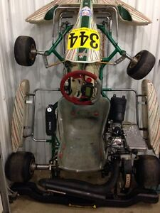REDUCED! Go-Kart NEW engine 28HP Rotax Max EVO