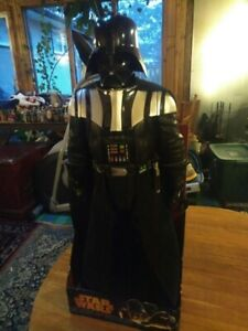 36 INCH TALL DARTH VADER WITH ORIGINAL PACKAGING GREAT CONDITON