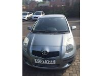 TOYOTA YARIS LOW MILEAGE 2007