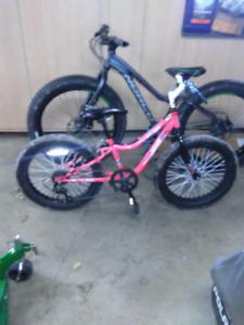 Kids fat bike