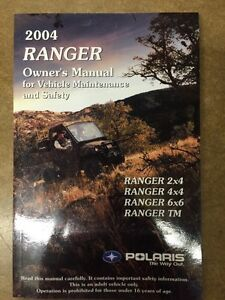 RANGER OWNERS MANUAL