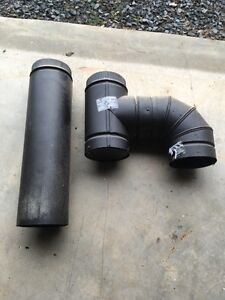 "6"" double wall stove pipe"