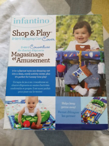 Shop & Play cart cover