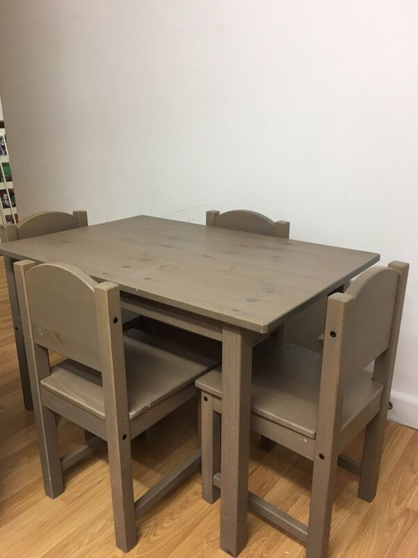 Ikea Children S Table And Chairs In Richmond London