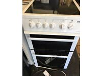 Beko 50cm electric cooker in good condition with a warranty of three months