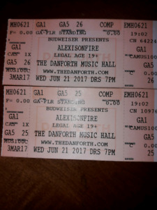 2 Alexis On Fire tix SOLD OUT @ Danforth Music Hall Dec 12 -15