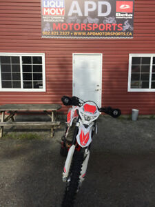 2018 BETA 390rrs LOW KMS FINANCING AVAILABLE 30 DAYS WARRANTY