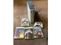 Xbox with 4 games £40