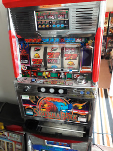TWO SLOT MACHINES FOR SALE:SAVANNA PARK, and PINK PANTHER