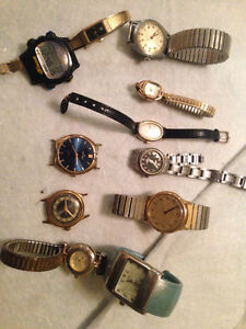 old and broken watches