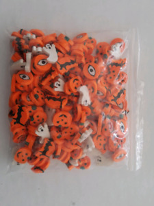Lot of 187 Halloween Shaped Erasers