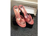 Pink sandals XOXO