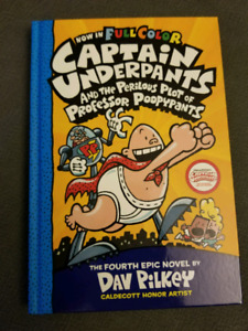 Captain Underpants - Book 4 (hardcover)