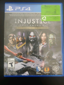 Injustice Ultimate Edition PlayStation 4