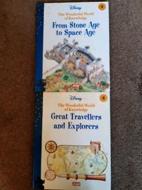 Disney - The Wonderful World of Knowledge Hardback Books