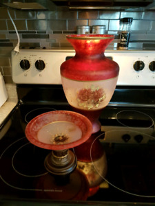 MURANO Vase and candy dish