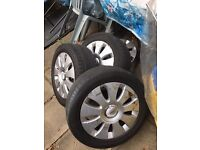 "16"" original Audi alloy wheels x 4 5 stud A3"