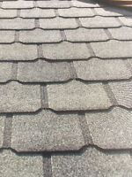 quality first and affordable roofing text  780 884 6232 free est