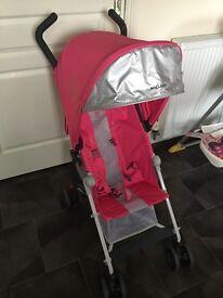 Maclaren Mark II buggy pink