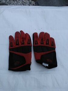 FOX MOTORCYCLE GLOVES SIZE L