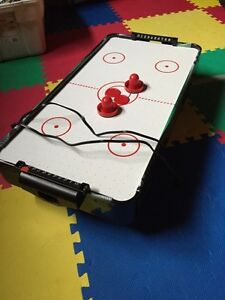 Table top mini air hockey table Stratford Kitchener Area image 1