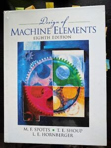 Design of Machine Elements (with CD) 8th Edition