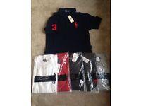 Polo tshirts not armani versace moncler