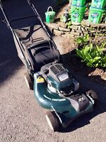 Craftsman 6.75 self propelled , 2 years old with bag