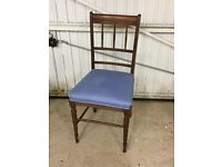 Old Style Dining/Bedroom Chair