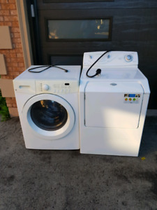Washer and dryer pair --used