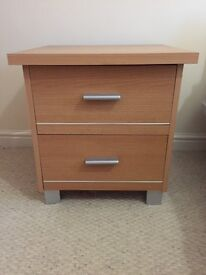 A pair of Bedside tables