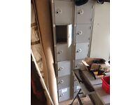 Lockers 6 & 4 door workshop garage office