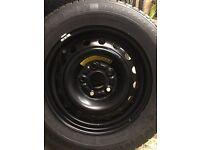 2 x Wheels 195/65R15 ,15x6J Honda Civic