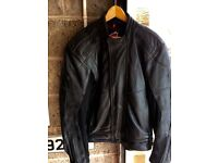 Hein Gericke Men's Black Leather Jacket