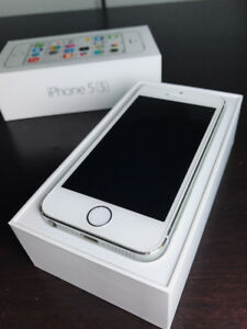 iPhone 5s Silver 16GB - Rogers - PERFECT CONDITION