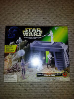Star Wars Power of the Force Endor Attack Toy!!