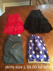 Various girl clothing