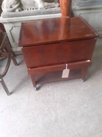 Mid century sewing box