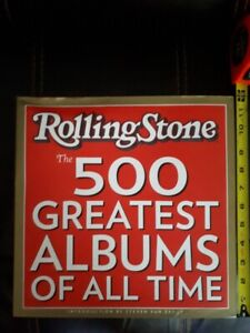 Rolling Stone 500 Greatest Albums of All Time coffee table book