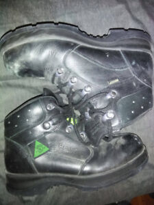 Steel Toe Used Work Boots - Womens 7.5