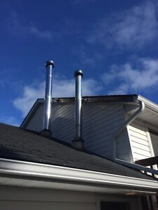 """8"""" chimney pipe 6 sections for 150$ Peterborough Peterborough Area image 3"""