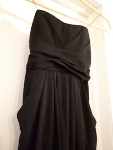 Little Black Dress With Pockets - Size Small