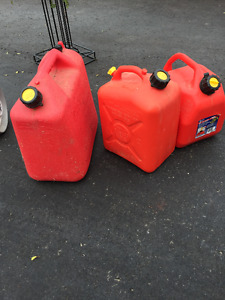 GAS CANS FOR SALE