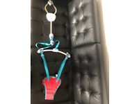 Munchkin Bounce About Baby Door Bouncer - Red/Blue