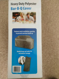 Heavy Duty BBQ Cover - Dark Grey - Brand New In Box