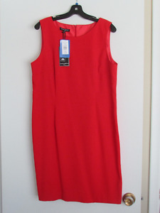 BNWT Red Mario Serrani Dress Size L