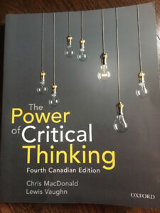 The power of critical thinking fourth edition