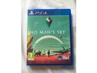 No mans Sky and Guitar hero for PS4