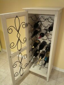 Wine Cabinet/Shelving Unit Kitchener / Waterloo Kitchener Area image 2