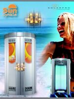 Tanning & Cream $ 10.=  Taxes Included BRONZAGE NO CONTRACTS